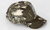 outdoor militärische wanderhüte großhandel-Männer Frauen Military Tactical Jagd Outdoor Camouflage Hut Angeln Wandern bionic Baseballmütze