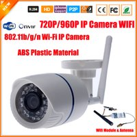 Wholesale Wifi Camera Ftp - 802.11b g n 150Mbps Security Camera IP Wireless 1.0MP 720P 1.3MP 960P Surveillance IP Camera WIfi ONVIF P2P FTP Motion Detect