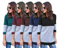 red leopard sleeve shirt Canada - NEW Women's Clothing Autumn Blusas Women Leopard Printed Clothing O Neck Long Sleeve T-shirt Ladies Tops Femininas Black White Gray S-3XL