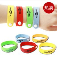 Wholesale Mosquito Repellent Wristbands - Adjustable Health bracelets Mosquito Killer Natural Citronella Mosquito Repellent Wristband Bracelet Band Anti Mosquito Repeller For Baby