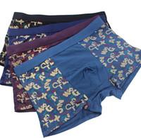 Wholesale Best Male Underwear - Best Selling Sexy Underwear confortable underpants Men Boxer 95% Modal 5% Spandex Mens Male Underwear Boxers DHL Free Shipping Gift OCC02