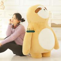 Wholesale kids giant teddy bears toys - Dorimytrader 47''   120cm Jumbo Cartoon Bears Doll Stuffed Soft Plush Lovely Giant Teddy Bear Toy Nice Kids Present Free Shipping DY60974