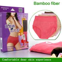 Wholesale Bamboo Women Boxer Underwear - Hot Wholesale Free Shipping Top Quality 100% Bamboo Fiber Comfortable Plus Size Women Underwear Women Boxer Briefs Big Size Underwear