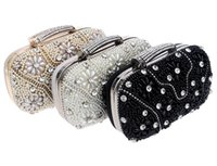 Wholesale Silk Purse Clutch - Fashion Purses Ladies Handbags Evening Bag Clutches Crystal Wallet Purse For Wedding Party Banquet To Be Best Evening Bags