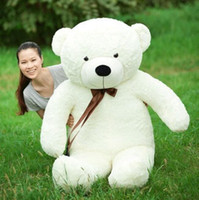 Wholesale hot toy life size dolls for sale - Group buy Hot Sale giant teddy bear CMhuge big animals plush stuffed toys life size kid dolls girls toy gift