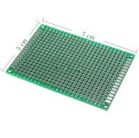 Wholesale Pcb Universal Board Double - Double Side 50x70mm Prototype Universal FR-4 Glass Fiber PCB Board Brand-new for Wholesale Free-shipping