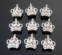 ingrosso accessori dei capelli del rhinestone giallo-Nuovi gioielli di moda Wedding Forbici da sposa Ragazze Bling Crystal Crown Princess Frozen Tiara Hair pin Capelli Twists Spins Pins