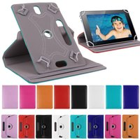 "Wholesale Pink Sky Blue Purple Tablet - New Tab Case 360 Rotate Leather Protective Stand Case Cover For Universal Tablet PC Case 7"" 8"" 9"" 10"" newsale0019"