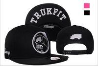 Wholesale Truckfit Caps Wholesale - Wholesale-2015 New Snapbacks Hip hop Hats Skateboard Boy Pattern Truckfit Baseball Caps Bone aba reta Gorras for Men Women