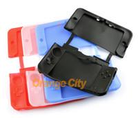 3ds xl cases achat en gros de-Housse en silicone Housse de protection soft Skin pour 3DS XL LL