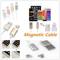câble de chargement magnétique micro usb v8 achat en gros de-2018 Date Hot Intelligent Magnétique Câble TPE universel v8 Micro usb câble câble de synchronisation câble de charge ligne pour les mobiles Android