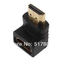 Wholesale Hdmi Female Male Coupler - 1pcs HDMI Male to Female M F Coupler Extender Adapter Connector for HDTV HDCP 1080p 2015 new