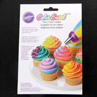 Wholesale Wilton Baking Wholesale - Wholesale- Wilton Baking special three-color plastic Decorating nozzle Kit