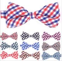 Wholesale Wholesale Ties Bowties - High quality Fashion Men printing Bow Ties Neckwear women bowties Unisex Wedding Bow Tie free shipping
