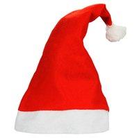 Wholesale Dance Costume Accessories Hat - Wholesale-Christmas decorations Christmas hats dance parties nonwovens.
