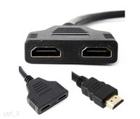 HDMI splitter hdmi converter - Hot HDMI Male to HDMI Female in out Splitter Cable Adapter Converter Support i p p i p