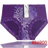Wholesale Silk Lingerie Woman Size - 2015old women big underwear laced plus size silk boyshort women brief high waist underpants stretch lady panties hot lingerie sexy ntimate