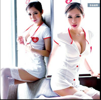 Wholesale Adult Knit - Sexy nurse uniforms suit big yards nightclub sm Contains Adult sexy lingerie transparent pajamas Sao