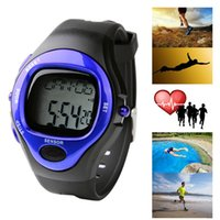 Wholesale Men Strapless - Men Sports Watches Stylish Sporty Strapless Noctilucent Heart Rate Monitor Sport Sphygmograph Pulsometer Pulse Wave Watch