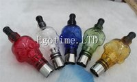 Wholesale skull tanks - Glass Globe Bulbs Big Skull Atomizer with Replacement Ceramic coil Atomizers Electronic Cigarette, Wax Dry Herb Vaporizer Glass Skull Tank