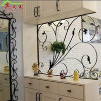 Metal outdoor partition - Ou wrought iron high partition wall indoor and outdoor fashion screen partition decoration