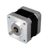 leadshine cnc venda por atacado-Novo Leadshine 42HS02 Motor a Passos Híbrido NEMA 17 de 2 Fases de Alto Desempenho com 31.2 OZ-IN Torque (0.22 N.m) Motor CNC