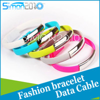 Wholesale Treasure Android - SPORTS BRACELET charger line, fashionable Android data cable charging treasure USB line smart Samsung millet HUAWEI USB creative portable