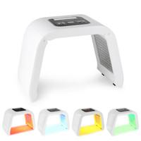 liderliğindeki güzellik ev makineleri toptan satış-4 renkler led güzellik makinesi PDT LED ışık tedavisi makinesi fotodinamik terapi akne cilt gençleştirme makinesi ev kullanımı DHL Ücretsiz Kargo