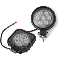 Wholesale Led Headlights For Trucks - 4inch 18W Round&Square Waterproof CREE LED Light Flood lamp LED Working Light for SUV Off-road Boat Truck Tractor Headlight Driving Light