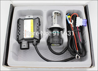 Wholesale Slim Ballast Hid Conversion Kit - Motorcycle Xenon H4 Socket High and Low Moto Light HID 35W Slim Ballast Bike BiXenon Kit 4300K 5000K 6000K 8000K 10000K 12000K