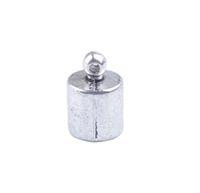 Wholesale End Caps Tibetan - 50Pcs Tibetan Silver 6MM Cord End Caps A19360