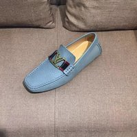 Wholesale British Bowtie Style - Mens Loafers Leather retro Shoes Luxury Brand Designer Flat Driving Casual Shoes Men High Quality Brown Espadrilles British Style