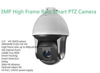 trasporto libero DS-2DF8336IV-AEL Inglese versione 3MP Frame rate elevato Smart Camera PTZ