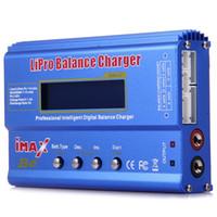 Wholesale Lipo Battery 6s - Original iMAX LCD Screen Digital RC Lipo NiMh Battery Balance New Charger +B6AC Lipo Charging XT60   T Plug Adaptor Board 2-6S +B