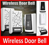por atacado Doorbell Wireless Door Bell - 1 controle remoto 2 Wireless Digital Receiver Doorbell 36 Chimes Songs Waterproof Wireless Door Bells