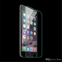 Wholesale Iphone 5c Screen Guard - 9H Tempered Glass LCD Screen Protector Anti-finger Explosion-proof Guard Film with Retail Box for iPhone 6G 6 6S Plus 6+ 5 5S 5C SE 4 4S