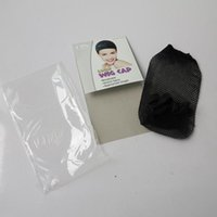 Wholesale hairnets for hair online - Top Quality wig cap hairnets Unisex for hair extensions hair wigs Breathable Appropriate length hair nets hot sale