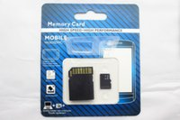 DHL Hot 2014 32 Go 64 Go Class 10 Micro SD TF Carte mémoire avec adaptateur GIFT Pack de vente au détail Flash SD Cards 70pcs