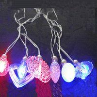 Wholesale Led Lighting For Wedding Receptions - New arrival!flash led necklace,LED light up toys decorations for wedding, reception,party led pendant 20pcs lot Light-Up Toys