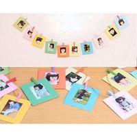 Wholesale Mini Paper Clips - 20pcs Hang Frame Clip For Fujifilm Instax Mini 90 8 7s 25 Polaroid Photo Film