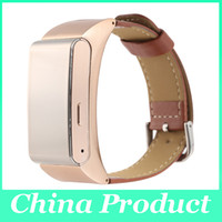 Wholesale Wrist Bluetooth Headset - Smart Bracelet M8 Bluetooth Headset Support Pedometer wristband Sleep Monitor for Android Ios Smart Phone Watch Black Silver Gold 010217