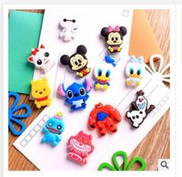 Wholesale Big Refrigerators - Mickey And Minnie Fridge Magnet Cute PVC Magnet Home Décor 12 styles Olaf Big hero 6 Refrigerator Magnets Dhgate Free Shipping R1422