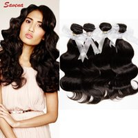 Wholesale Indian Weaving Natural Hair Colour - 2015 New Arrival 4Bundles lot Indian Remy Natural Colour Human Hair weaving 7A Grade Human Hair Extension