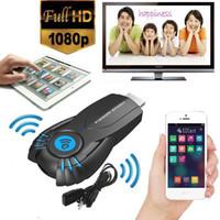 varas de androids de tv venda por atacado-2015 Vsmart V5ii DLNA AirPlay Miracast Dongle Receptor DLNA AirPlay Miracast HDMI 1080 P Inteligente TV Vara para Mac iOS Windows Android