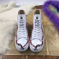 Wholesale Dress For Love - 2017 New Fashion High Top Black Applique Blind For Love Genuine Leather Boots Shoes Men Women G Luxury Brand Casual Flat Shoes