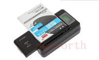 Wholesale home cellphone online - Universal Battery Charger Li ion LCD Screen USB AC Phone Home Wall Dock Travel Samsung S3 S4 S5 Note Nokia Huawei Cellphone