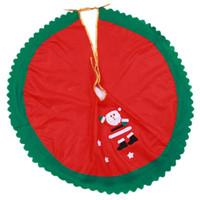 santa claus etekler toptan satış-90 cm Noel Baba Ağacı Etek Yılbaşı Ağacı Etek Yılbaşı Ağacı Noel malzemeleri noel süslemeleri 2 tasarımlar