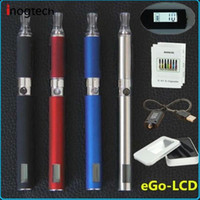 Wholesale Mt3 Lcd - New 2014 electronic cigarette ego LCD MT3 Starter kits +electronic cigarette smoking+e cigarette LCD Display ego battery