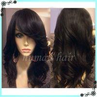 Wholesale Straight Brazillian Hair Brown - 2016 new premium quality 100% brazillian virgin human hair full lace wigs 130 150 density human body wave lace wigs