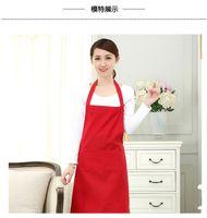 önlük elbiseleri toptan satış-1 parça 2-pocket kadın önlük garson önlük barbekü restoran mutfak pişirme önlükleri çalışma elbise 60x70 cm TO279